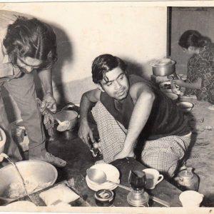 Serajul Alam Khan Preparing Foods